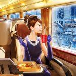 "YuGa(ユーガ)×ネスカフェ""優雅な通勤バスで朝食を"""